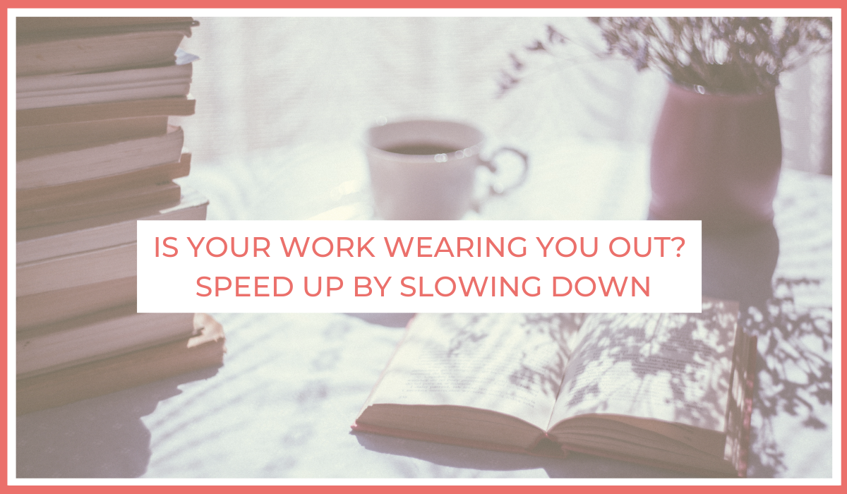 Is Your Work Wearing You Out? Speed Up By Slowing Down   Joe Sanok   Thursday Is The New Friday   Forbes Article Feature