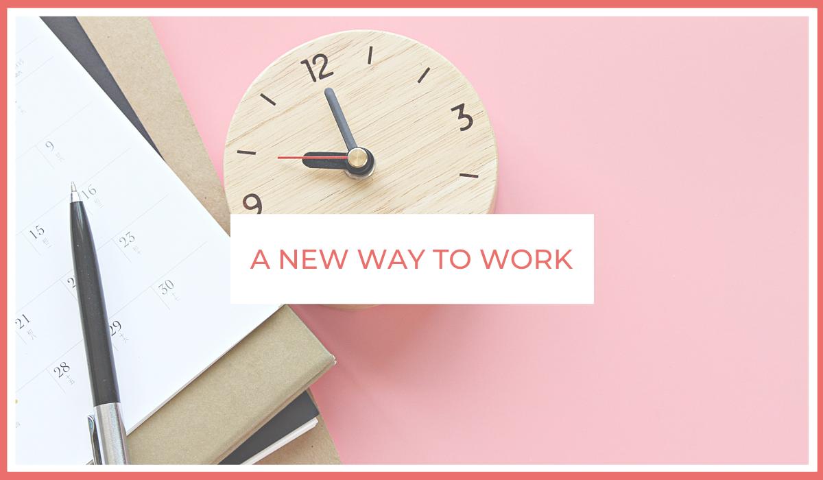 A New Way to Work | Thursday Is The New Friday | Blog Article | Skip Prichard | joe Sanok